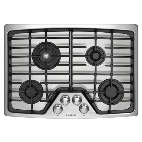 electrolux 30 gas cooktop electrolux ew30gc55gs 30 quot gas cooktop