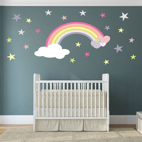 Personalised Bedroom Wall Stickers nursery decor stickers palmyralibrary org