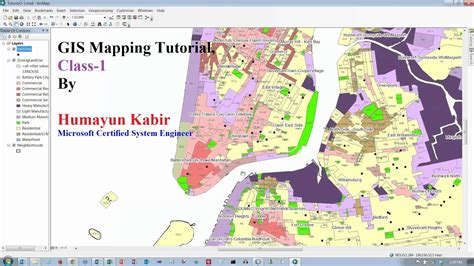 arcgis tutorial for beginners gis mapping tutorial for beginner class 1 gis concept