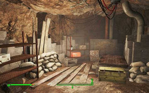 The Time Cellar your sanctuary root cellar fallout 4 mod fo4