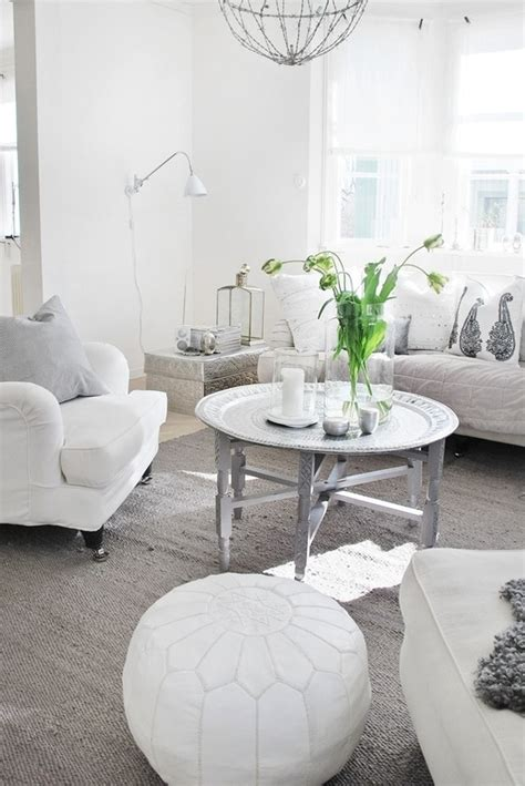 white and silver living room white and silver perfect room inspiration pinterest