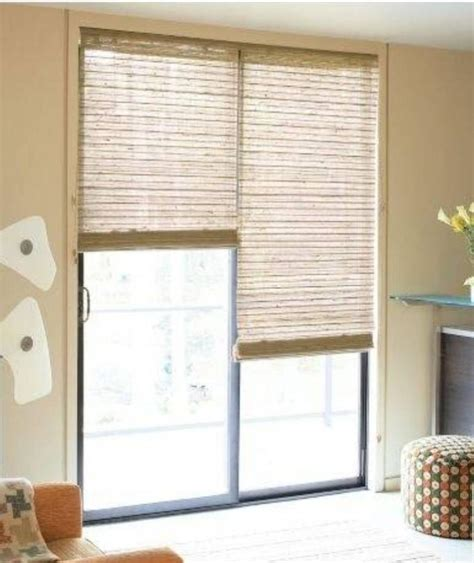 Sliding Patio Door Window Treatments Photos Window Covering For Patio Door