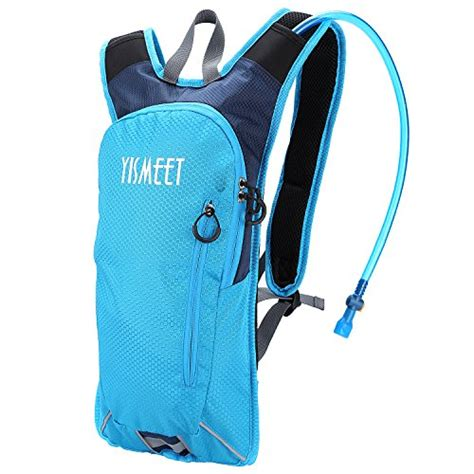 yismeet lightweight hydration pouch backpack with 2 liter