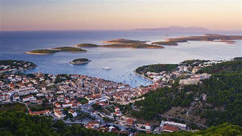 hvar island croatia island hopping around split hotel globo