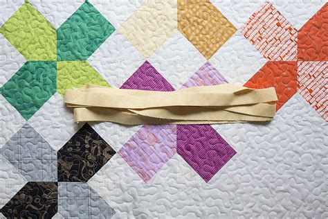Bind Quilt by How To Bind A Quilt Using Fold Binding Weallsew