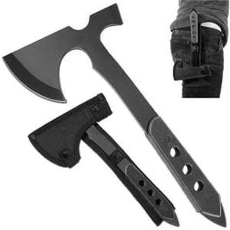 modern axes battle tech tactical throwing axe and sheath axes