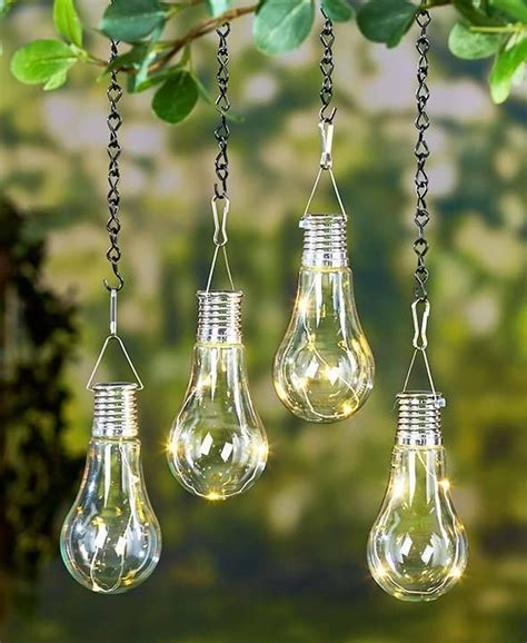 hanging solar lights for trees 340 best images about garden decor on pinterest gardens