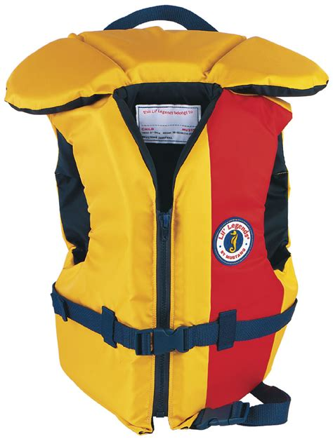 legend boats life jackets mustang lil legend youth type iii pfd