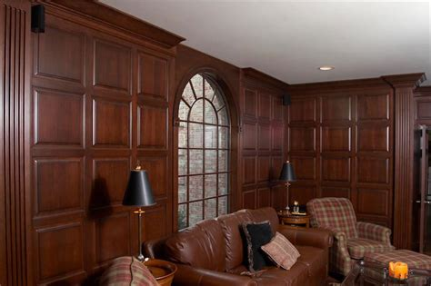 Cherry Wainscoting Panels by Maryland Custom Trim Projects Maryland Cabinets A Cut