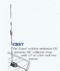 on glass cb antenna valor cb27