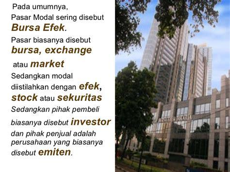 Pasar Derivatif Derivatif Market pasar modal
