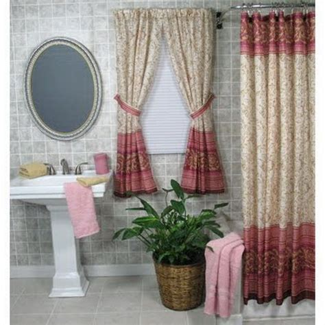 modern bathroom window curtain ideas for and style
