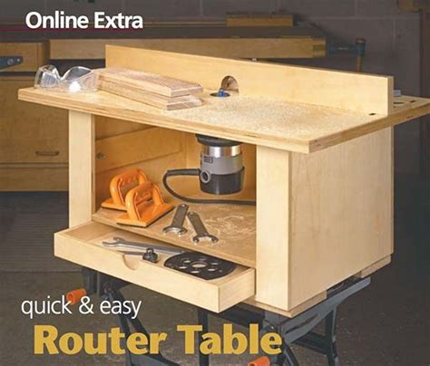 router bench plans 39 free diy router table plans ideas that you can easily