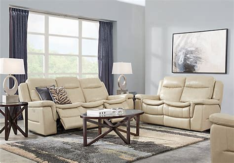 milano leather living room furniture sets pieces 2 177 00 milano stone beige 3 pc leather living room