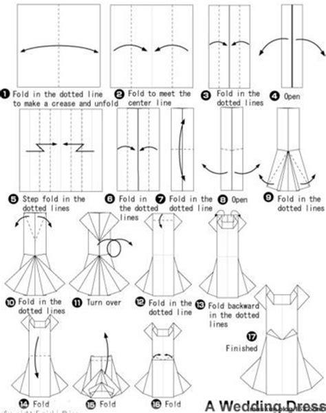 Money Origami Wedding Dress - money origami dress 2 paper