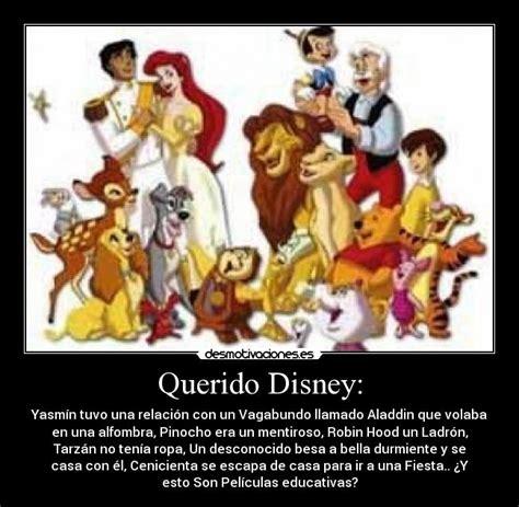 Disney Desmotivaciones   querido disney desmotivaciones