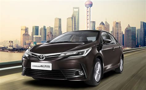 Toyota Corolla At 2017 Toyota Corolla Altis Facelift Launched In India