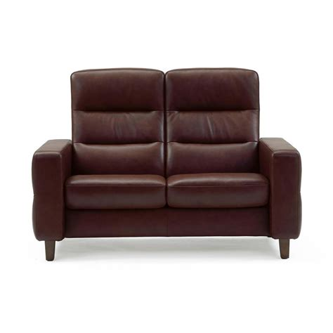 The Stressless Wave High Back stressless wave high back loveseat from 3 395 00 by stressless recliner store