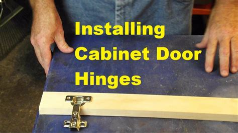 Installing Cabinet Hinges Video Response To Kaligirl1980 How To Hang Cabinet Doors