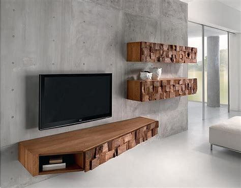 Floating Cabinets by Astonishing Floating Wooden Cabinets Design And Tv Stand
