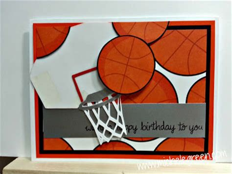 basketball pop up card template cricut fanatics crafting is our basketball birthday