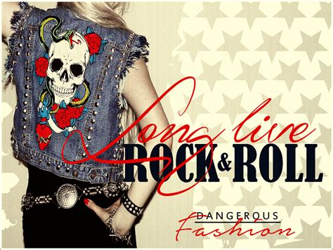 diy rock and roll layers dangerous fashion long live rock and roll rock america