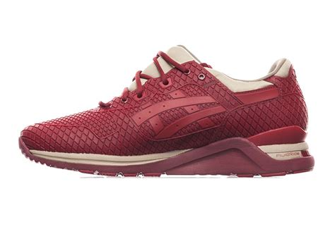 Set Evo Maroon asics gel lyte evo quot armour quot pack sneakernews