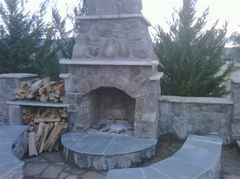 Outdoor Pits And Fireplaces by Outdoor Fireplaces And Pits Lawn Service Nashville Tn