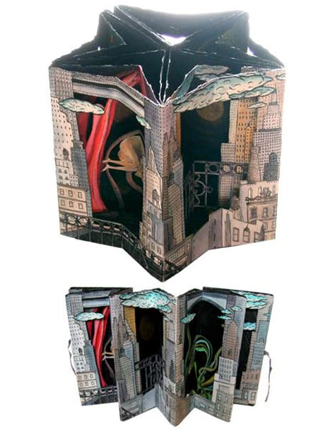Handmade New York - pop up punch 15 3 d books adults will urbanist
