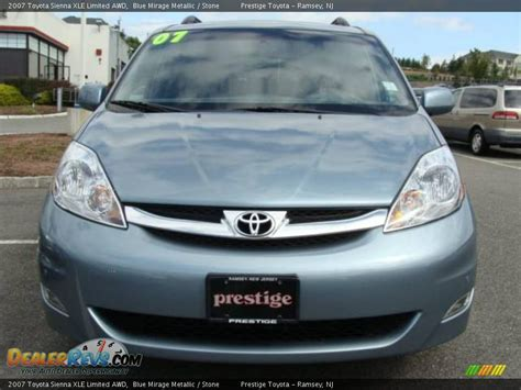 Toyota 2007 Xle Limited 2007 Toyota Xle Limited Awd Blue Mirage Metallic