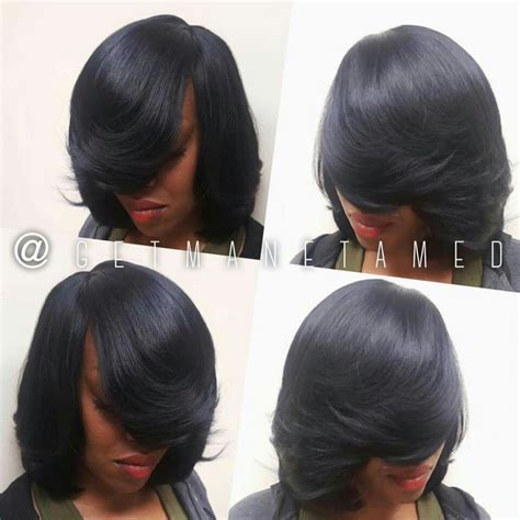Sew In Long Bob Weave No Leave | full sew in no leave out long bob razor cut bob weaves