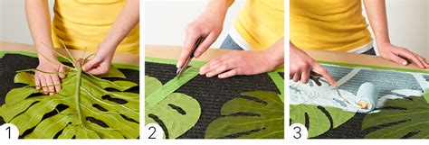 Roll Cat Motif Patterned Paint Roller 24 painted doormat design options my home my style