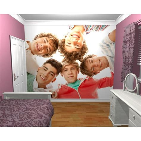 wallpaper wall mural 1d one direction bedroom