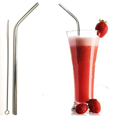 Metal Straw Cleaner reusable straw stainless steel 1 metal straw