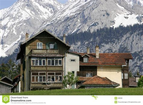17 small traditional house design in tirol austria austrian house in mountains stock photo image 28330