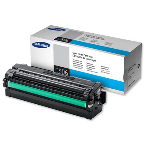 Samsung Toner Cyan 3 5k Clx 6260fw samsung c506l yield 3500 pages cyan toner cartridge for