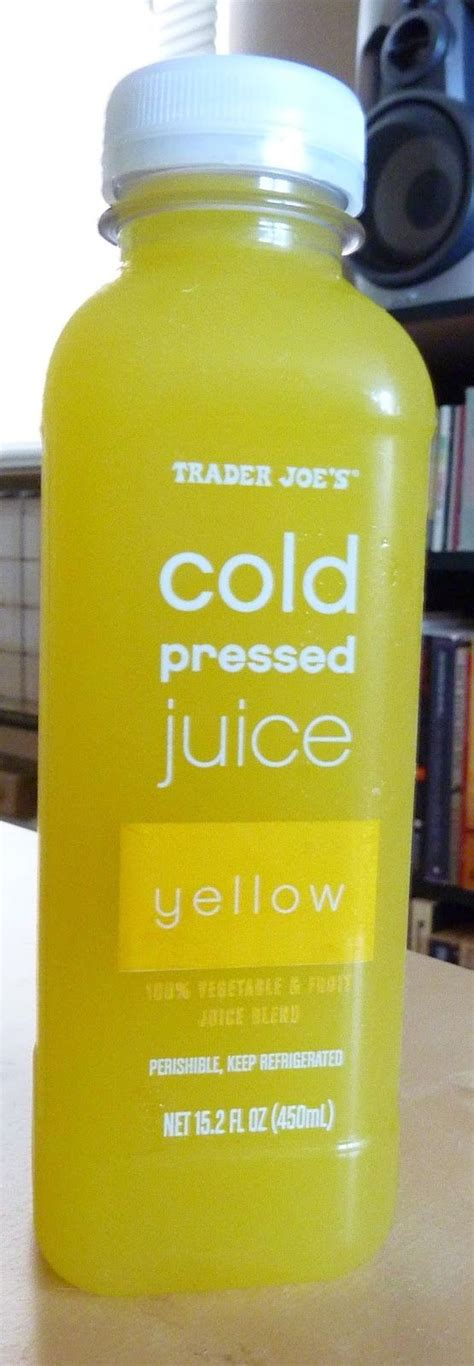 Yellow During Detox by Trader Joe S Yellow Cold Pressed Juice Reviewed