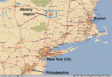 map of the northeast usa map of east usa