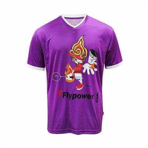 Kaos Printed Boy jual flypower muria boy purple kaos badminton harga kualitas terjamin blibli