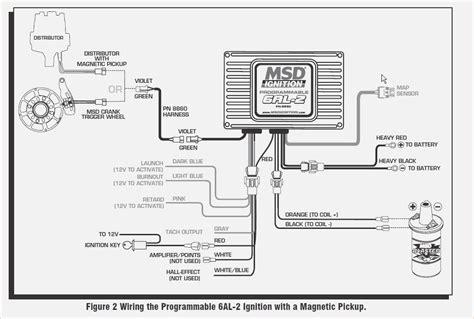 msd distributor wiring diagram msd 6al 2 wiring diagram davehaynes me