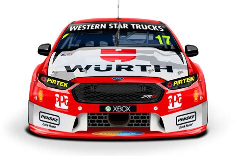 Wurth launches V8 partnership with DJR Team Penske