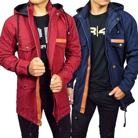 Jaket Blazer Mantel Wanita Parka Cewe Model Korea Canvas Winter Navy jaket pria jaket branded pria parka pocket leather baby canvas premium high quality elevenia
