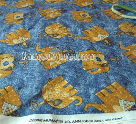 pattern sale joann fabric 2017 bebbie mumm for joann elephant pattern fabric cotton
