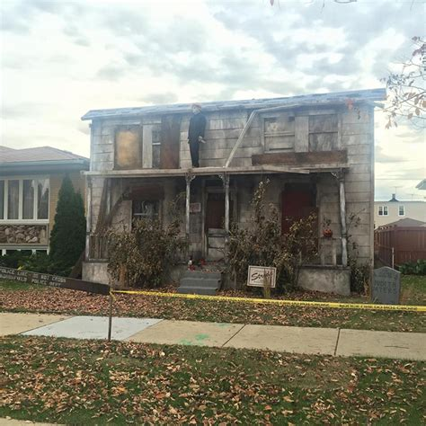 michael myers house these people have won halloween with their creepy michael myers house