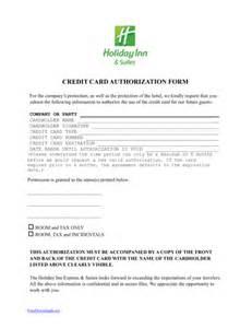 inn credit card authorization form template pdf word freedownloads net
