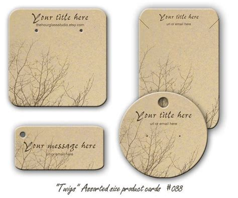 Diy Earring Card Template by Best 25 Jewelry Tags Ideas On Diy Jewelry