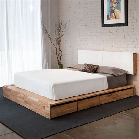 28 simple and mid century modern beds digsdigs