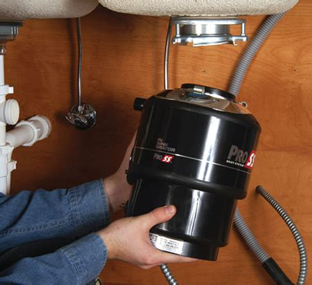 replacing a garbage disposal in a sink garbage disposal repair installation how to replace