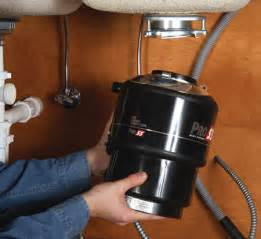 garbage disposal repair installation how to replace