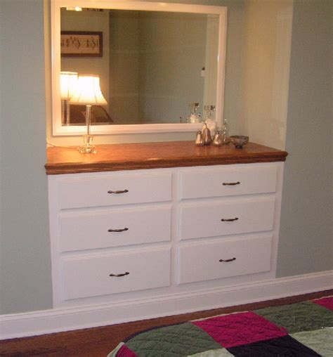 Built In Dresser by Fearon S Woodworking Dressers